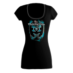 2012 Emblem Burn Ladies Scoop Neck Blue