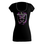 2012 Emblem Burn Ladies Scoop Neck Purple