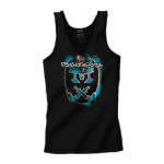 2012 Emblem Burn Ladies Tank Top Blue