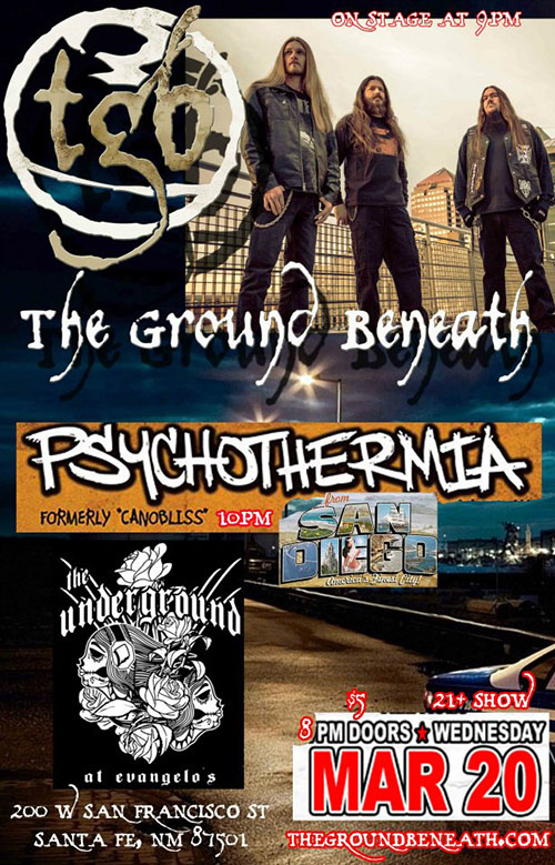 Psychothermia at The Underground in Santa Fe