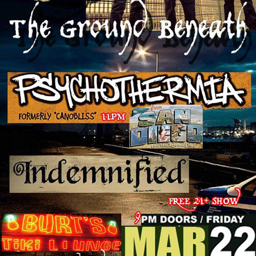 Psychothermia live at Burt's Tiki Lounge in Albuquerque