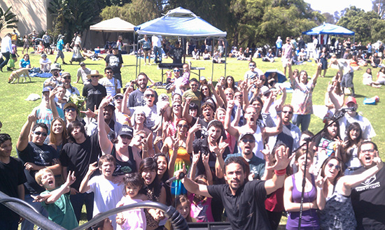Psychothermia at EarthFair 2013 in Balboa Park