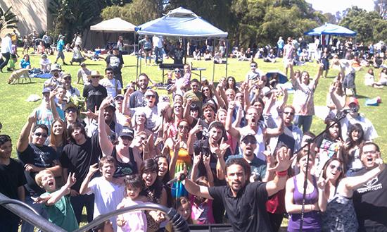 Psychothermia at EarthFair 2013 in Balboa Park