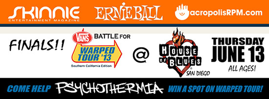 Psychothermia at Battle for Warped Tour
